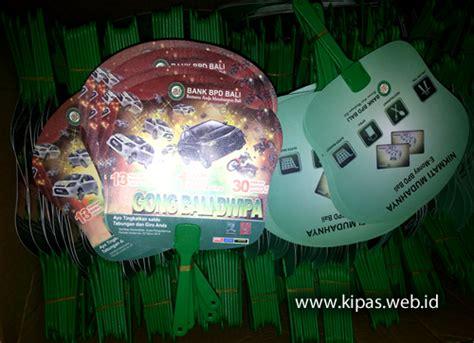 Souvenir Kipas Bali kipas promosi bank bpd bali network biz id