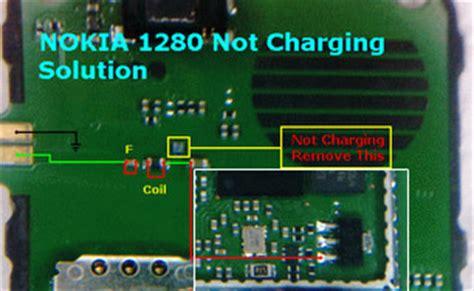 47k resistor in nokia 1280 12 10 mobile repairing diagrams