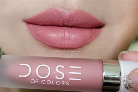 Lipstik Dose Of Color by Dose Of Colors Liquid Matte Lipstick Review And Swatches