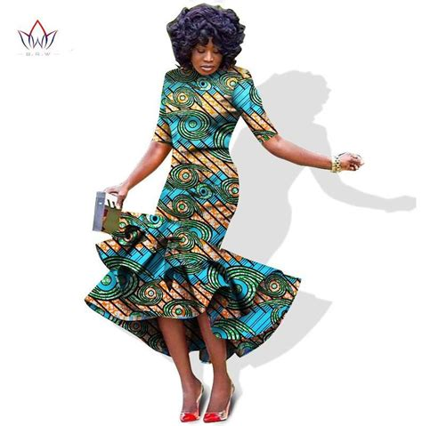 african dresses styles for women african bazin riche pintted dress for women dashiki dress