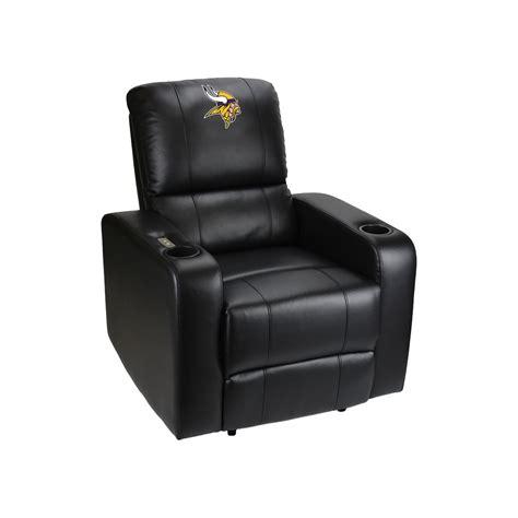 minnesota vikings power theater recliner  usb port theater recliner recliners seating