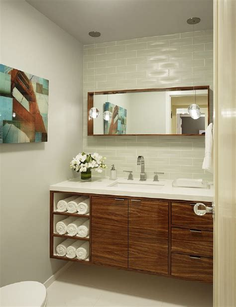 Bathroom Vanities With Towel Storage by Furniture Gold Metal Wall Mounted Towel Shelf Hanging On