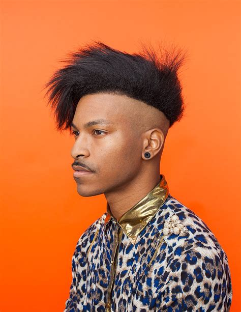 swag haircut for black boys afropunk hair portraits by artist awol erizku vogue