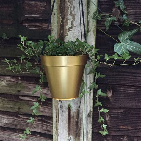 indoor hanging planters gold hanging planter eclectic indoor pots planters by curious egg
