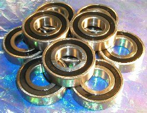 Miniature Bearing R14 2rs Iks 10 bearing r14 2rs 875 quot x 1 875 quot x 500 quot inch bearings ebay