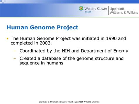 section 13 2 the human genome project chapter 15