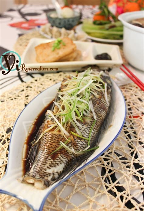 new year food fish new year special traditional steamed fish 清蒸魚