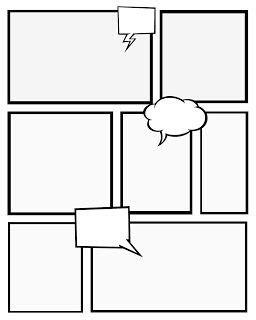 comic strip template infotech ideas pinterest