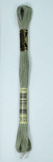 dmc stranded cotton embroidery floss colour 3022 medium