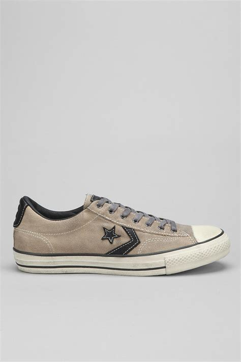 Jual Converse X Varvatos lyst converse varvatos x chuck all player mens leather sneaker in brown for