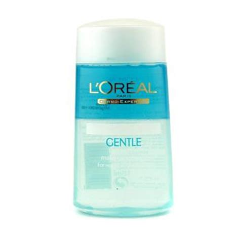 L Oreal Dex Gentle Lip Eye Make Up Remover 125ml 100 Original l oreal dermo expertise gentle lip and eye make up remover walmart