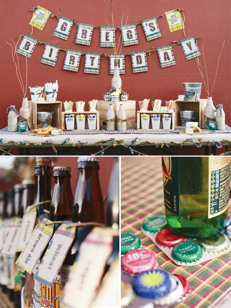 beer themed events birthday party ideas for blokes sweet magazine