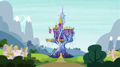 mlp twilights castle mlp friendship rainbow castle by truereflections101 on