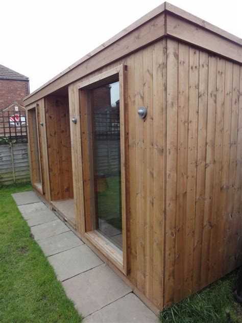 Timber Shed Cladding by External Cladding Apex Timber Buildings
