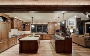 kitchen double island traditional thatcher williams sonoma