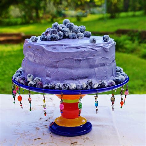 Blueberry Cake Decoration by Trifle Lemon Pound Cake With Blueberry Cheese