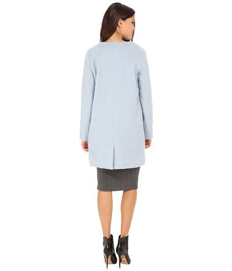E M O R Y Vianne 11emo562 bb dakota vianne brushed wool blend coat cyanide 6pm