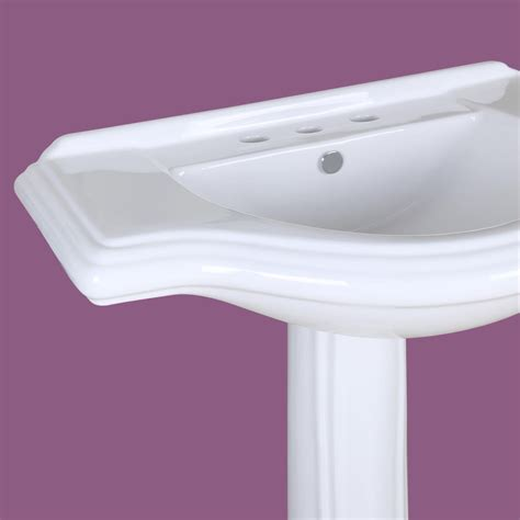 large pedestal sinks bathroom large pedestal sink bathroom console 8 quot widespread 34 quot w