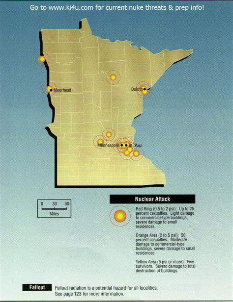 shelters in mn nuclear war fallout shelter survival info for minnesota with fema target maps
