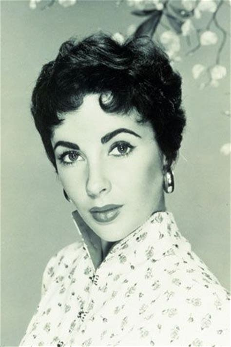 elizabeth taylor short hair styles pinterest the world s catalog of ideas