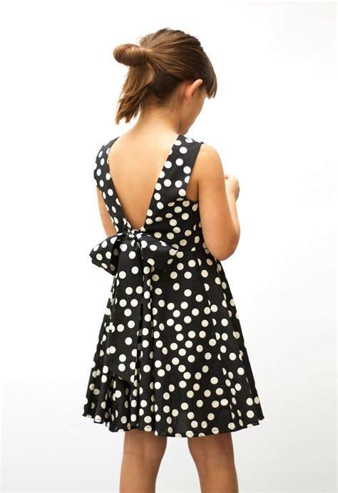 Dress Kid Ursula Polka motoreta ss15 dress polka dot black motoreta lookbook fashion kid s stuff