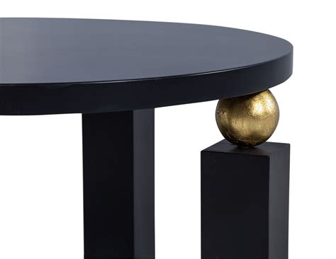 black and gold end table deco black and gold end table carrocel