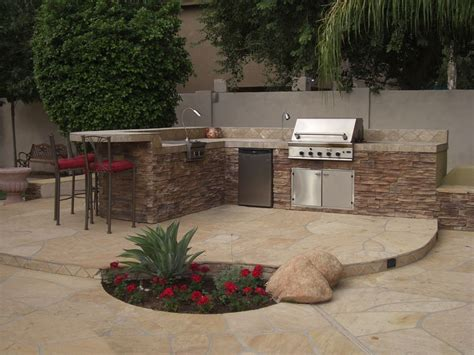 bbq outdoor kitchen islands this pre fabricated island is a full outdoor kitchen