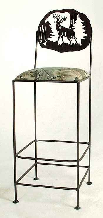 Bar Stools Deer by Rustic Bar Stools And Furniture
