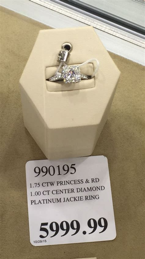 Wedding Bands At Costco by Costco Princess Cut Ring Zoom Engagement Rings