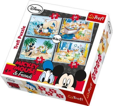 trefl disney marvel 4 in 1 childrens jigsaw puzzle
