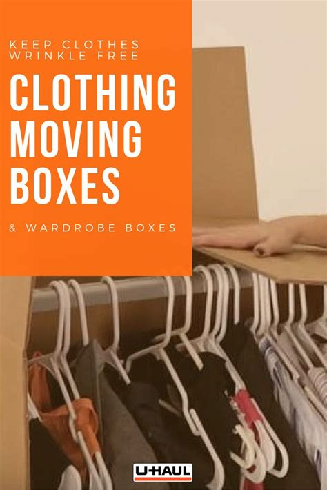 wardrobe box with metal hanging bar 25 best ideas about wardrobe moving boxes on