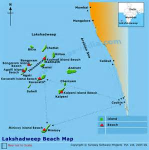 beaches map lakshadweep beaches lakshadweep beaches map beaches map of