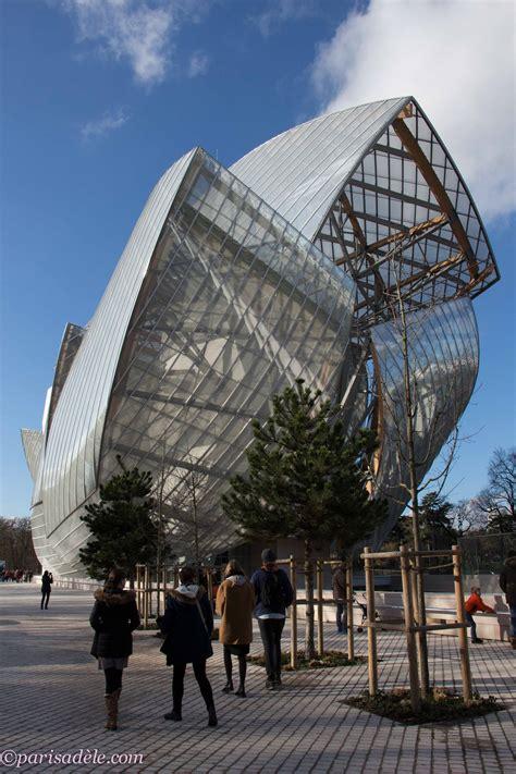 Louise Vuitton Parris fondation louis vuitton ad 232 le