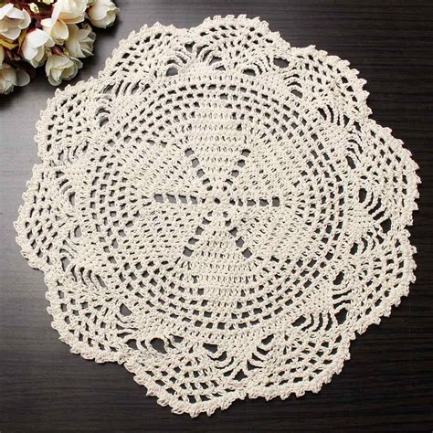 Handmade Doily - buy wholesale cotton lace doilies from china cotton