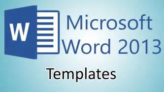 microsoft word 2013 templates microsoft word 2013 tutorials document templates