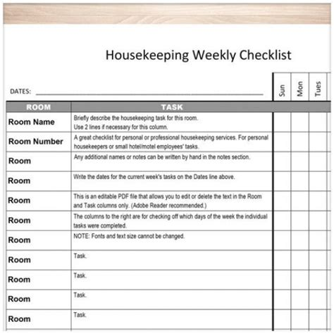 25 best ideas about room cleaning checklist on pinterest housekeeping task list task list templates