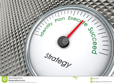 How To Plan And Execute Strategy sales strategy stock illustration illustration of