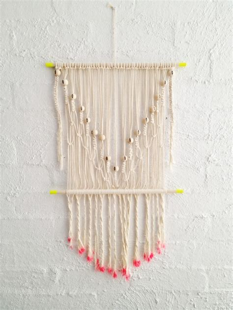 Macrame Tips - add some boho spirit with these 21 macrame hanging wall