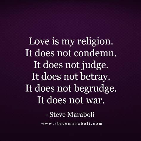 is my is my religion steve maraboli