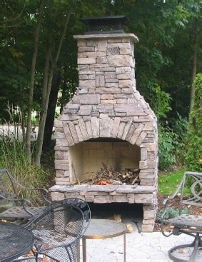 outdoor fireplace kits   diyer shine  light
