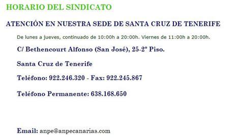 anpe canarias sindicato independiente anpe comunidad valenciana sindicato independiente de