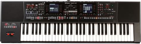 Keyboard Roland 7 Oktaf roland e a7 61 key arranger keyboard sweetwater