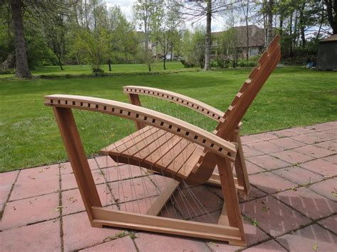 suspended adirondack chair robby cuthbert design