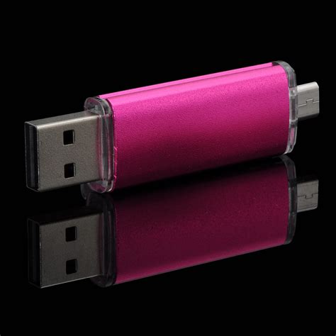 Usb Otg Dual Drive dual usb 2 0 otg phone port u disk pen memory stick