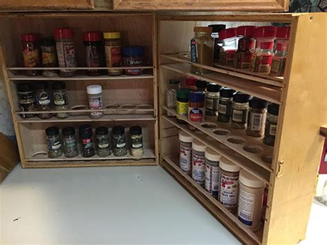 Kitchen Counter Rack by Kitchen Counter Spice Rack Woodworking