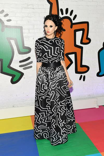 paris jackson keith haring stacey bendet and paris jackson celebrate the launch of