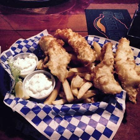 oyster house olympia halibut fish chips picture of oyster house olympia tripadvisor