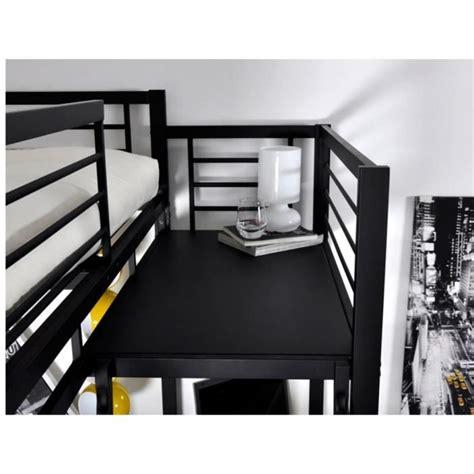 bureau avec 騁ag鑽e ikea lit mezzanine casual ii couchage 140x190cm plateforme