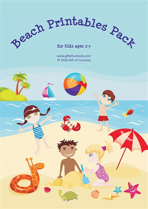 printable beach maze beach printables pack with more than 70 beach activities