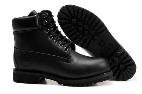 shop for shoes timberland all black 6 inch premium